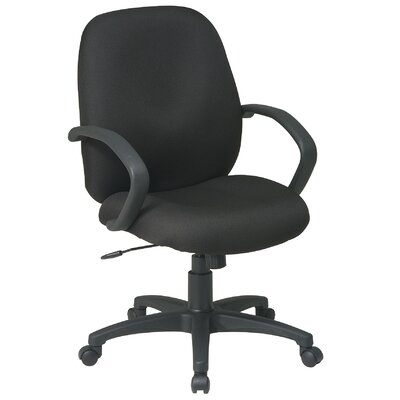 Office Star Products Executive Mid-Back Managerial Chair Image