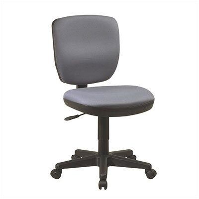 Office Star Products Mid-Back Contemporary Task Chair without Arms Image