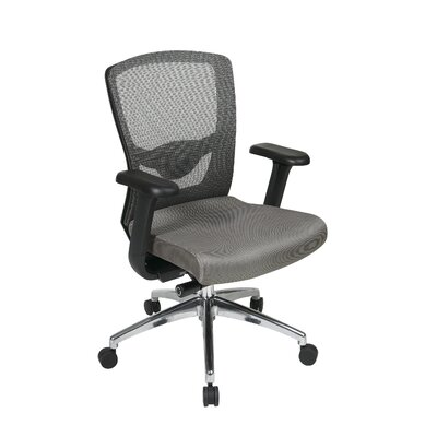 Office Star Products High-Back Ergonomic ProGrid Mesh-Back Office Chair