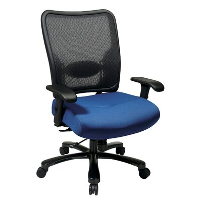 Office Star Products Space Seating High-Back Double AirGrid Big and Tall Office Chair