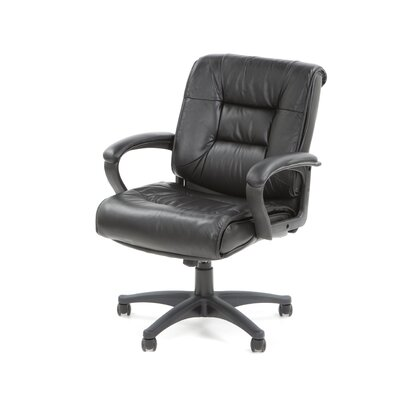 Office Star Products Deluxe Mid-Back Conference Chair with Arms