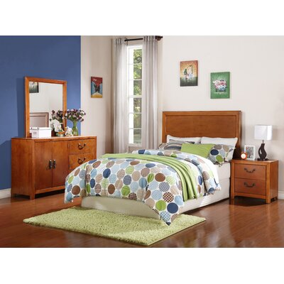 Powell Furniture Finley Panel 4 Piece Bedroom Set