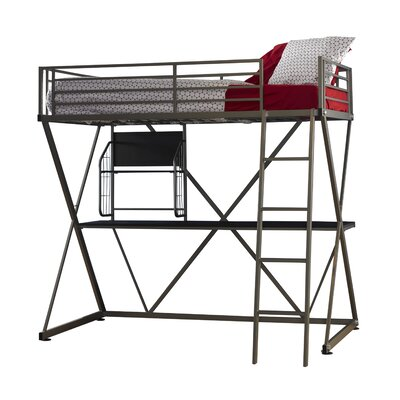 Powell Furniture Z Bedroom Twin Loft Bed
