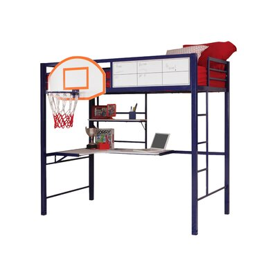 Powell Furniture Hoops Basketball Twin Loft Bed