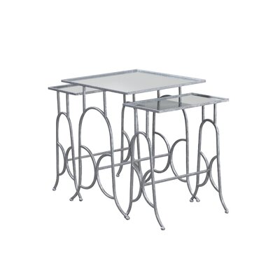 House of Hampton Mendel 3 Piece Nesting Tables
