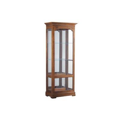 Loon Peak Canola Large Curio Cabinet