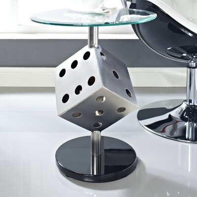 Powell Furniture Snake Eyes End Table