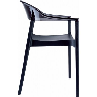 Compamia Carmen Stacking Dining Arm Chair (Set of 4)