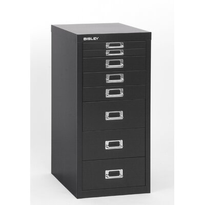 Bisley 8 Drawer Vertical File