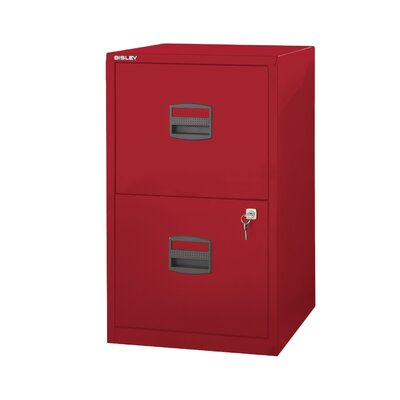 Bindertek 2-Drawer Steel Home or Office F..