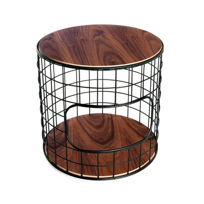 Gus* Modern Wireframe End Table