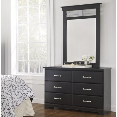 Lang Furniture Trenton 6 Drawer Dresser w..