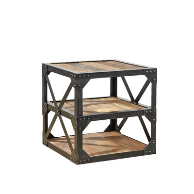 Furniture Classics LTD Bleecker Recycled End Table