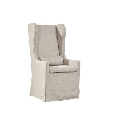 Furniture Classics LTD Highback Linen Host Wing Chair