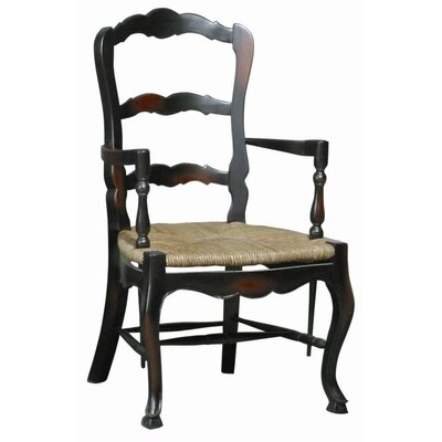 Furniture Classics LTD French Country Ladderback Arm Chair (Set of 2)