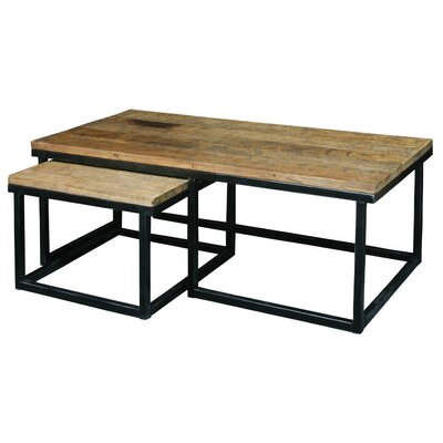 August Grove Saguaro 2 Piece Nesting Coffee Table Set