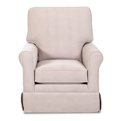 Darby Home Co Calmers Bridgeport Swivel Rocker Glider