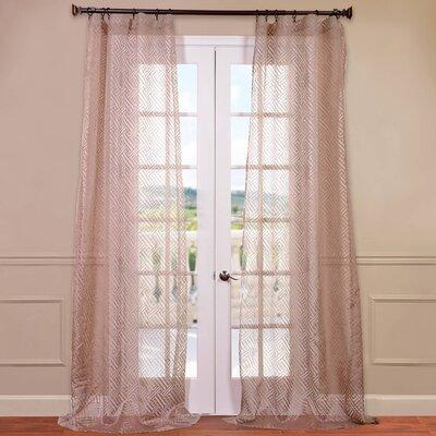 Patterned Sheer Curtain Panels Tree Sheer Curtain Panels