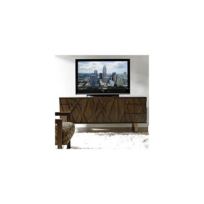 Sligh Cross Effect TV Stand