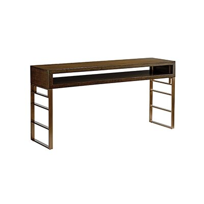 Sligh Cross Effect Console Table