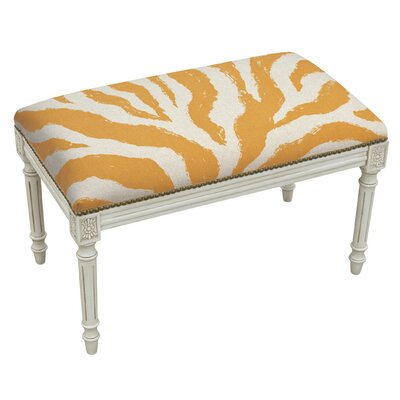 123 Creations Animal Print Upholstered an..