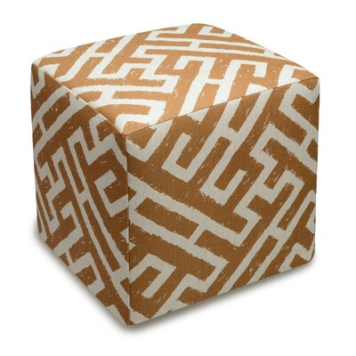 123 Creations Lattice Upholstered Cube..
