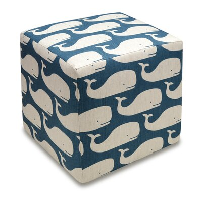 123 Creations Whales Cube Ottoman