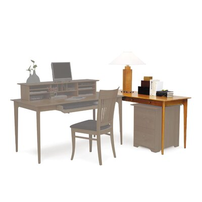 Copeland Furniture Sarah Secretary Desk with Keyboard Tray