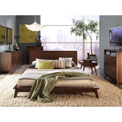 Copeland Furniture Catalina Platform Customizable Bedroom Set