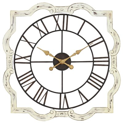 aspire eloise french country wall clock reviews wayfair