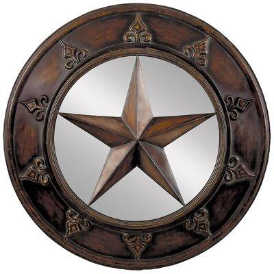Star Mirror Wall Decor aspire star mirror wall décor & reviews | wayfair