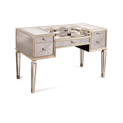 House of Hampton Sandbach Mirrored Desk