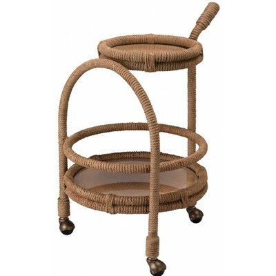 Jamie Young Company Palm Bay Bar Serving Cart