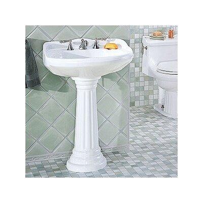 Sink Wrap For Pedestal Sink : ... Creations Arlington Medium Pedestal Bathroom Sink & Reviews Wayfair