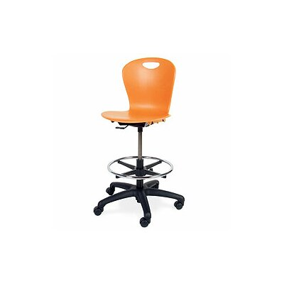 Virco Zuma Mid-Back Drafting Chair