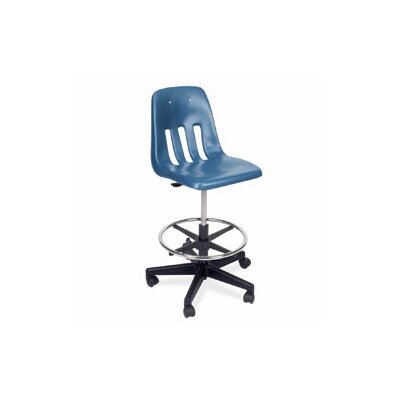 Virco 9000 Series Mid-Back Drafting Chair