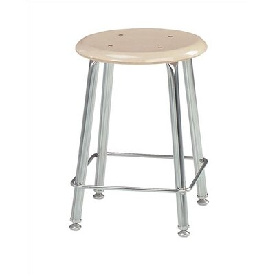 Virco Height Adjustable Stool with Sad..