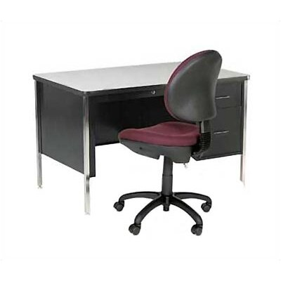 Virco 540 Series Laminate Particleboard Teacher's Computer Desk