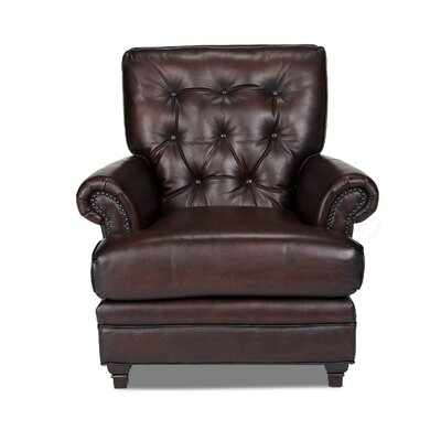 Opulence Home Pablo Leather Arm Chair