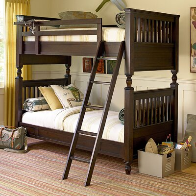 SmartStuff Furniture Paula Deen Kids Twin Bunk Bed