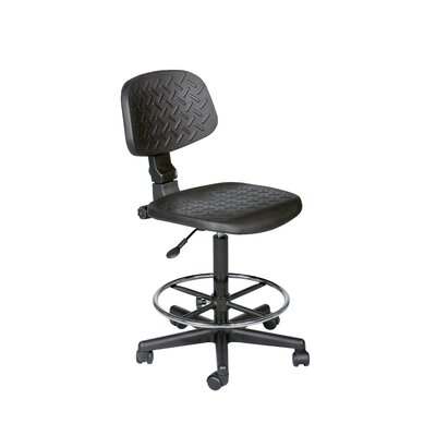 Balt Height Adjustable Trax Stool with Fo..