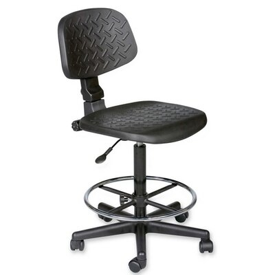 Balt Height Adjustable Trax Stool with Dual Wheel Image