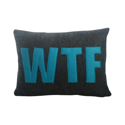 Alexandra Ferguson Modern Lexicon WTF Lumbar Pillow & Reviews Wayfair