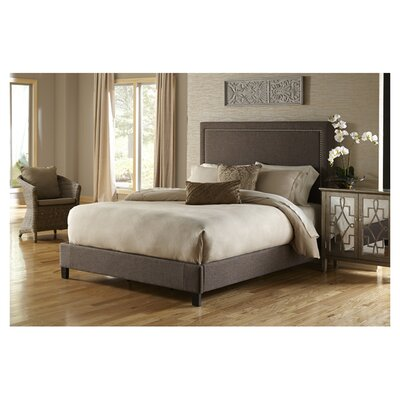 PRI Upholstered Panel Bed