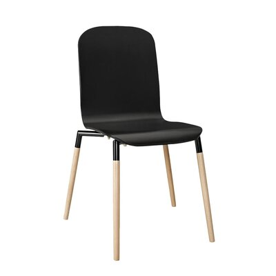 Modway Stack Wood Side Chair (Set of 4)