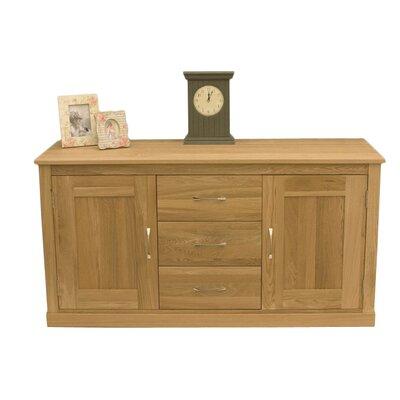baumhaus mobel oak 2 door 3 drawer sideboard baumhaus mobel oak 2