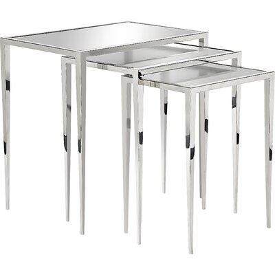 House of Hampton Kassandra 3 Piece Nesting Tables