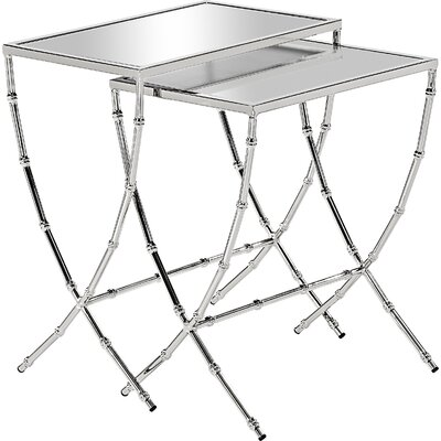 House of Hampton Bardette 2 Piece Nesting Tables