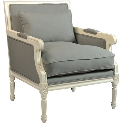 One Allium Way Faye Arm Chair in Natural