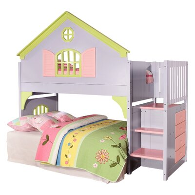 Donco Kids Donco Kids Doll House Twin Loft Bed